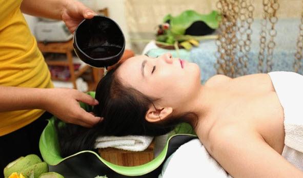 Spa dưỡng tóc