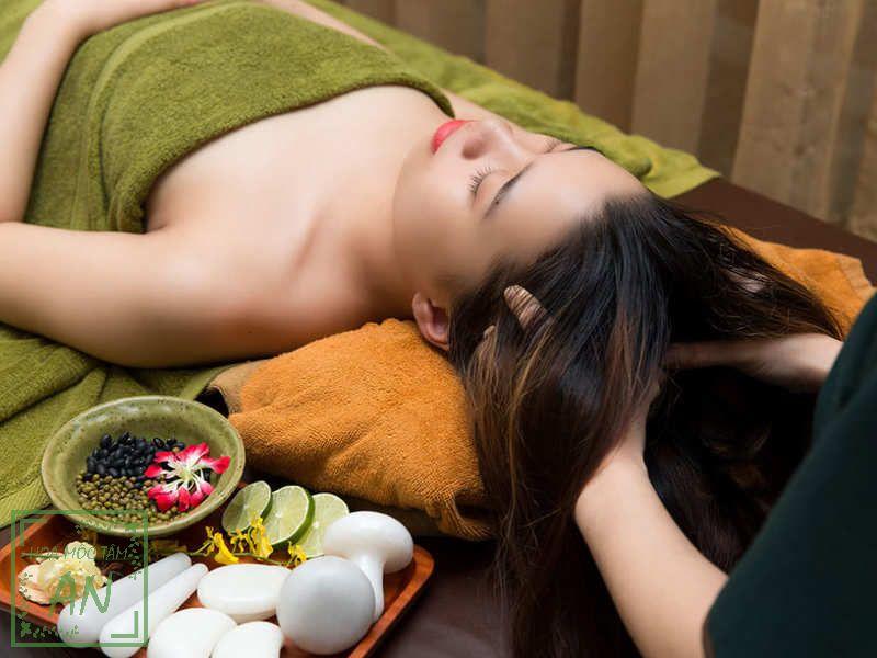 Sử dụng liệu trình chăm sóc sức khỏe vùng đầu