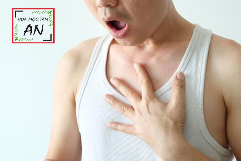 Đau dây thần kinh liên sườn gây khó thở