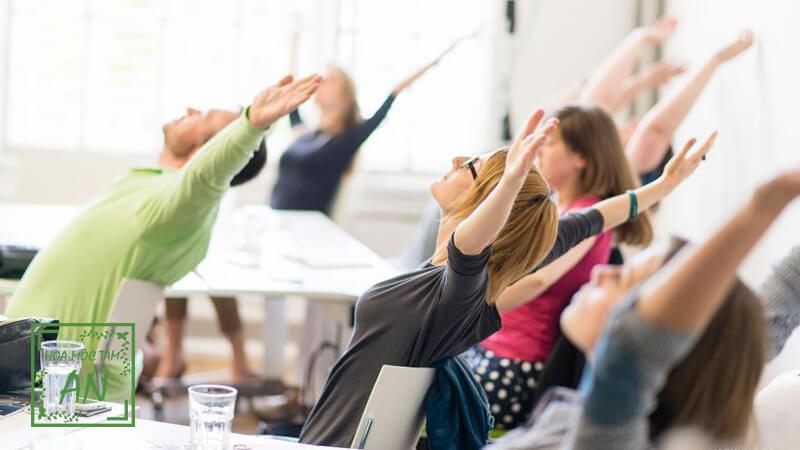 Các bài tập thể dục cho dân văn phòng