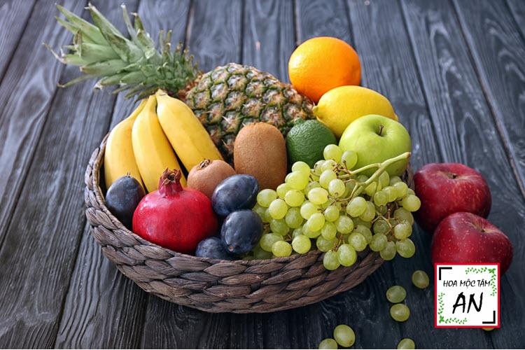 Ăn các loại hoa quả