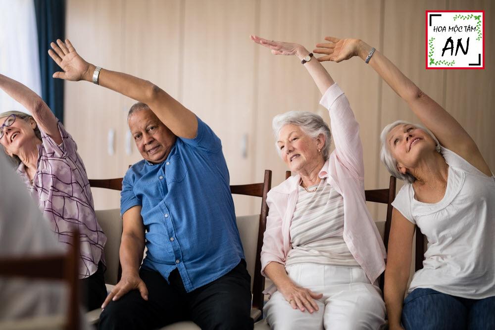 Tập dưỡng sinh cho người già
