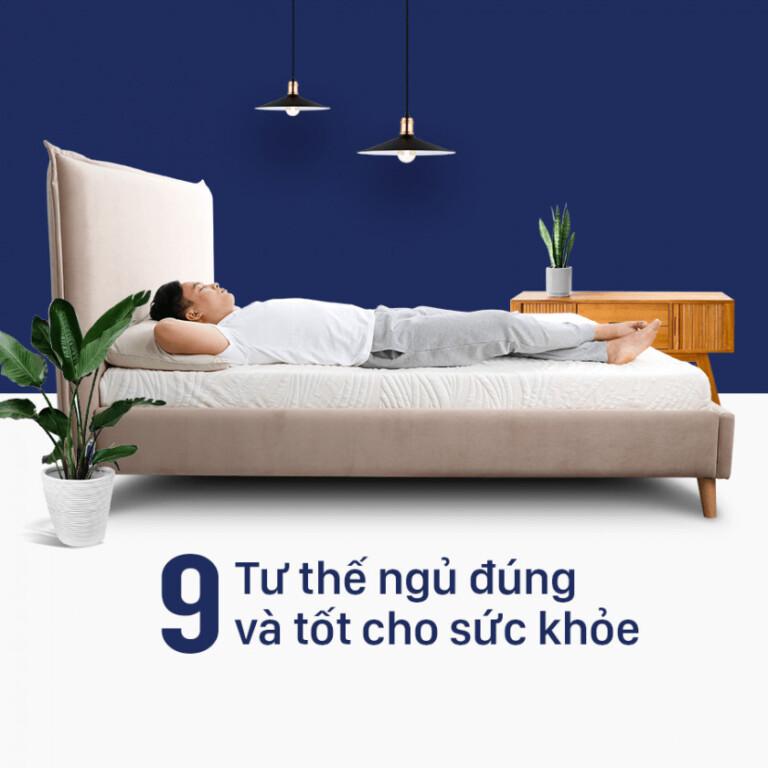 tư thế ngủ đúng